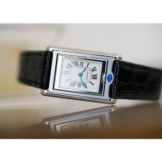 Cartier - 美品 カルティエ タンク バスキュラント ローマン SM Cartier