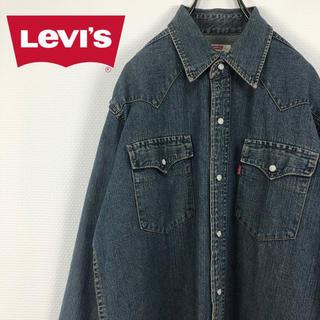 リーバイス(Levi's)のリーバイス Levi's スナップボタン 折りタグ デニム ウエスタンシャツ(シャツ)