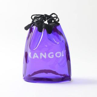 KANGOL - 【WEB限定KANGOL×FREAK'S STORE/カンゴールクリア巾着バッグ