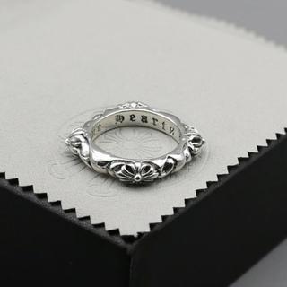 925 クロムハーツゴシックデザインリング (リング(指輪))