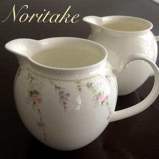 ノリタケ(Noritake)のノリタケ  クリーマー・ミルクポット・ピッチャー  2個セット(食器)