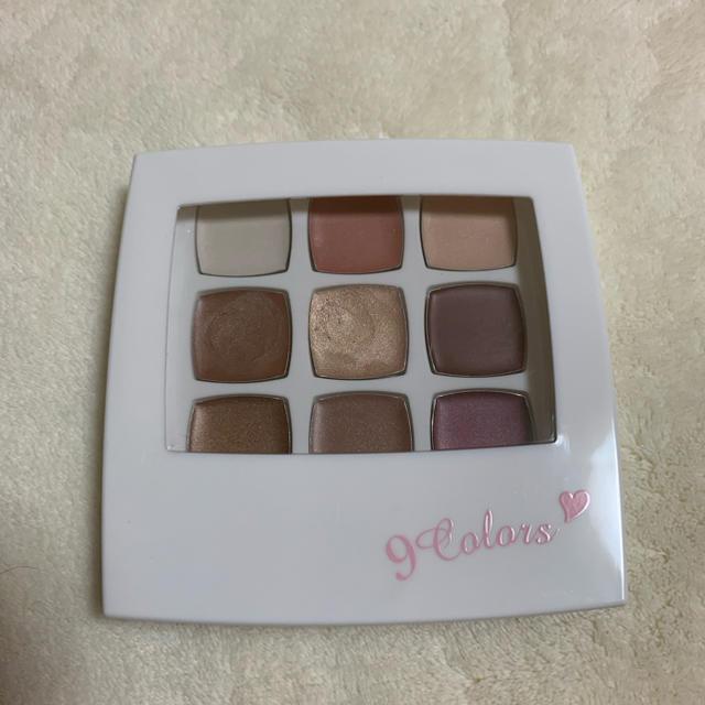 9colors グロスアイシャドウ パレット コスメ/美容のベースメイク/化粧品(アイシャドウ)の商品写真