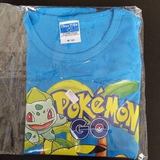 ポケモン(ポケモン)のポケモンTシャツ100サイズブルー(Tシャツ/カットソー)