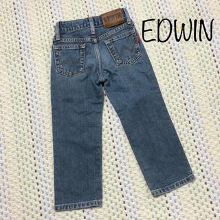 EDWIN - EDWINデニム ジーンズ90㎝