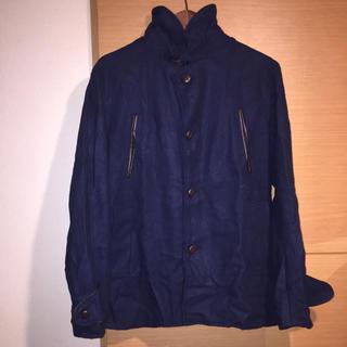 ジャーナルスタンダード(JOURNAL STANDARD)のシンプリシテプリュス SIMPLICITE PLUS ハーフコート 40 紺色(ピーコート)