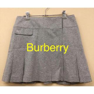 BURBERRY BLUE LABEL - 再値下げ!Burberry★ミニ巻きスカート