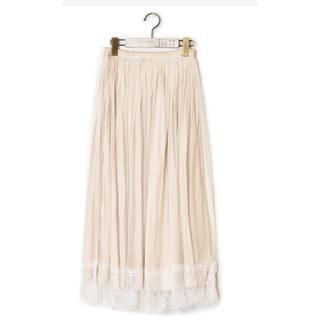 ダブルクローゼット(w closet)のリバーシブルチュールスカート(ロングスカート)
