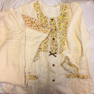 Wacoal - ワコール 産前、産後 綿100 パジャマ M 古着