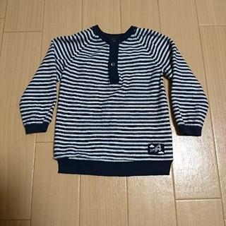 エイチアンドエム(H&M)の【H&M】ボーダー セーター 80㎝(ニット/セーター)