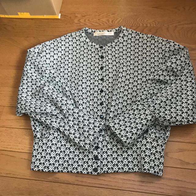 Dot&Stripes CHILDWOMAN(ドットアンドストライプスチャイルドウーマン)のドットアンドストライプス カーディガン 即完品 レディースのトップス(カーディガン)の商品写真