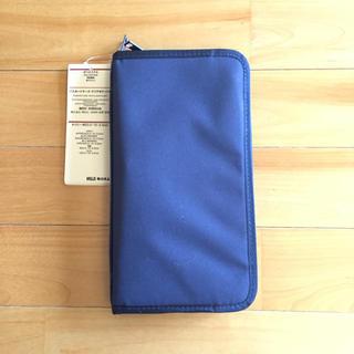MUJI (無印良品) - 無印良品 パスポートケース クリアポケット付