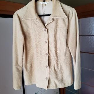 しまむら - Lサイズの薄茶のジャケット