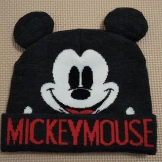 ザラキッズ(ZARA KIDS)のミッキーニット帽(帽子)