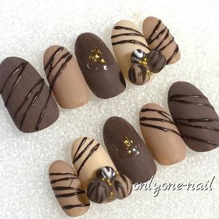 【193】トリュフネイル♡チョコレート♡スイーツ