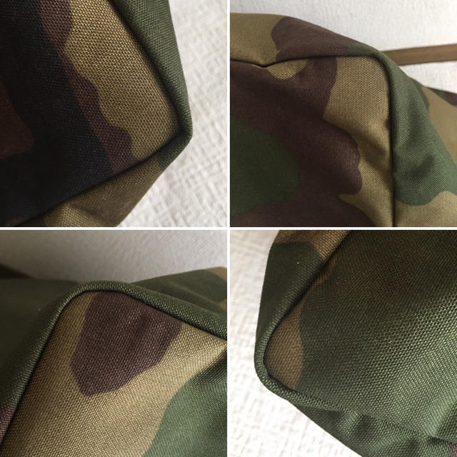 Herve Chapelier(エルベシャプリエ)の美品 レア 入手難 エルベシャプリエ トラベルライン 848w カモフラ トート レディースのバッグ(トートバッグ)の商品写真