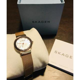 スカーゲン(SKAGEN)のSKAGEN スカーゲン 358SRRD レディース(腕時計)