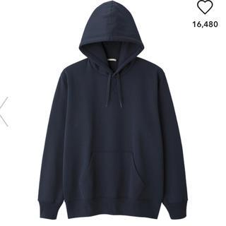 GU - ジーユー  GU スウェットプルパーカ(長袖) ネイビー Lサイズ