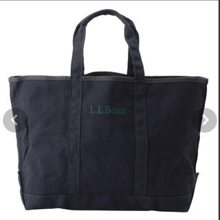L.L.Bean - 新品未使用!エルエルビーン  llbean グローサリートートバッグ ネイビー