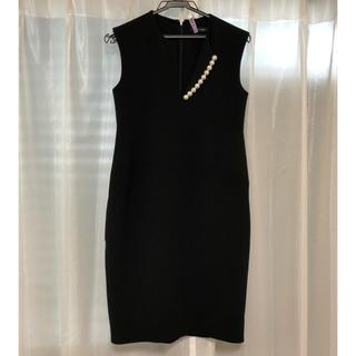 BARNEYS NEW YORK - yokochan ヨーコチャンパール ドレス超美品 YOKO CHAN
