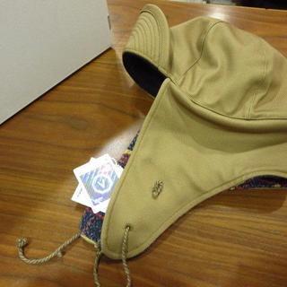 ヴィスヴィム(VISVIM)のVISVIM AVIATOR HAT フライトハット カーキ(その他)