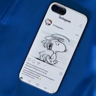 SNOOPY - SNOOPY ×PEANUTSスヌーピー× ピーナッツ iPhoneケース白い