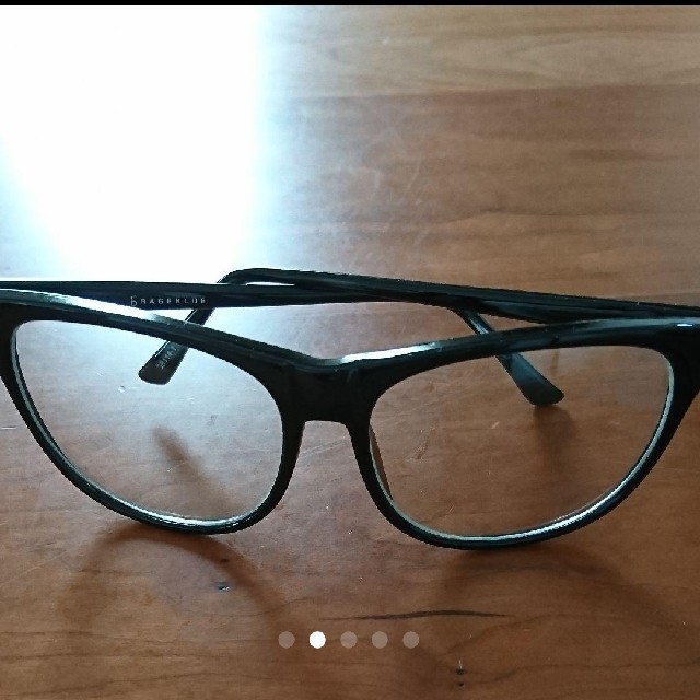 RAGEBLUE(レイジブルー)のレイジブルー伊達メガネ メンズのファッション小物(サングラス/メガネ)の商品写真