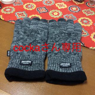 ビームス(BEAMS)の試着のみbeams購入裏フリース手袋あったかい♨︎ (手袋)