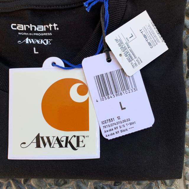 AWAKE(アウェイク)のCarhartt WIP Awake NY tシャツ L メンズのトップス(Tシャツ/カットソー(半袖/袖なし))の商品写真