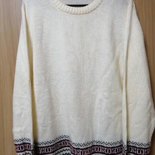 GU - GU セーター ホワイト Lサイズ