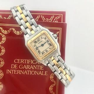 Cartier - 美品✨カルティエ Cartier パンテール コンビ 腕時計レディース