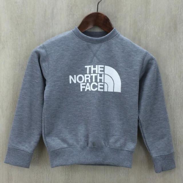 THE NORTH FACE キッズトレーナー 120cm キッズ/ベビー/マタニティのキッズ服男の子用(90cm~)(Tシャツ/カットソー)の商品写真