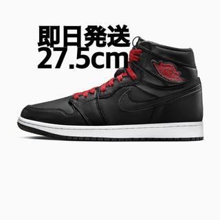 NIKE - エアジョーダン AIR JORDAN 1 ナイキ  BLACK GYM RED