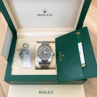ROLEX - ロレックス  エアキング  116900 自宅着用のみ 2019年正規店購入