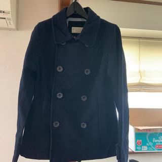 ビームス(BEAMS)のBEAMSHEARTのPコート  紺色  サイズ1(ピーコート)