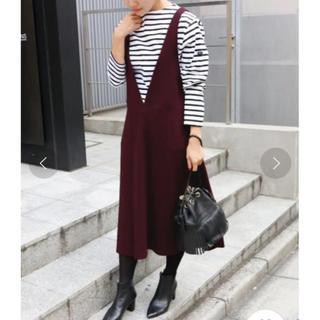 IENA - IENA ACE/Cu フレアジャンパースカート