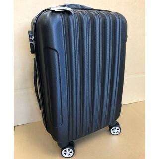 新品未使用 おしゃれ軽量キャリーケース Sサイズ29リットル ブラック(旅行用品)