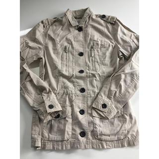 エイチアンドエム(H&M)のH&M ジャケット上着ベージュ M UNIQLO ZARA GU(その他)