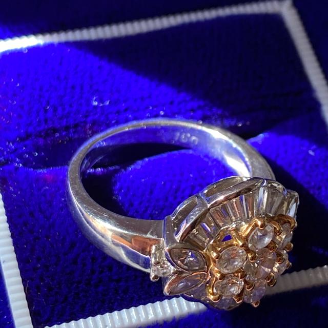 チョコ様ご専用★ダイヤ1.5カラット❗️Ptダイヤモンドリング レディースのアクセサリー(リング(指輪))の商品写真