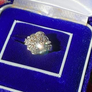 美品❗️ Pt1.5カラットダイヤリング