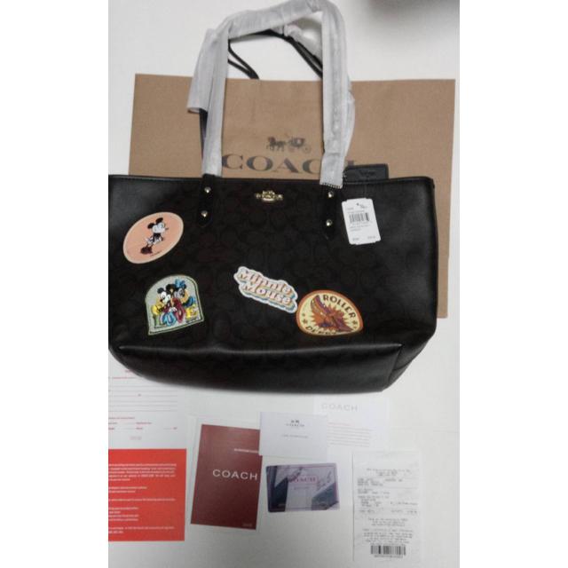 COACH(コーチ)のコーチ x ディズニーコラボ トートバッグ レディースのバッグ(トートバッグ)の商品写真