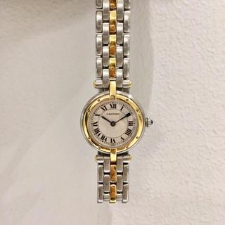 Cartier - 美品✨1ロウ パンテール SMカルティエ Cartier コンビ 腕時計