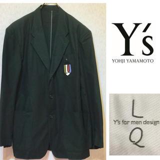 ワイズ(Y's)の希少 LQ  Y's for men design 90s 刺繍エンブレム JK(テーラードジャケット)