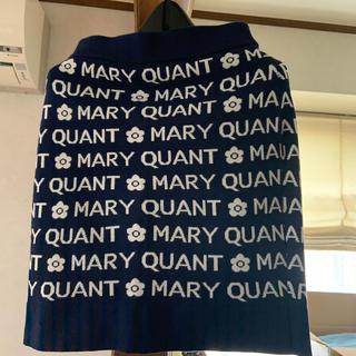 マリークワント(MARY QUANT)のMARY QUANT  ニットスカート   サイズM(ひざ丈スカート)
