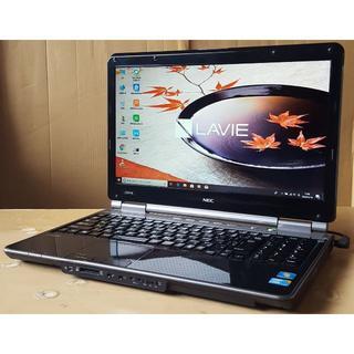 エヌイーシー(NEC)のWin10 LaVie LL550W/i3/4G/500G/DVD/WLAN(ノートPC)