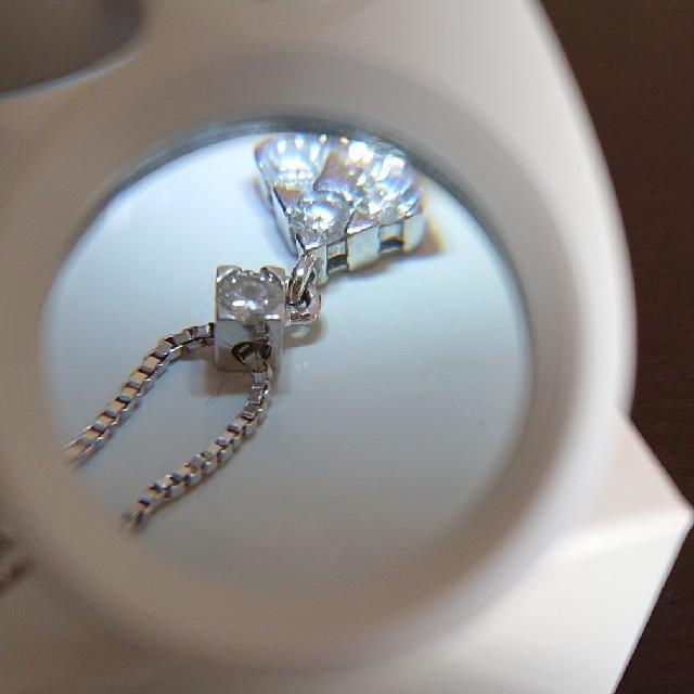 Vendome Aoyama(ヴァンドームアオヤマ)のヴァンドーム青山ダイヤネックレス レディースのアクセサリー(ネックレス)の商品写真