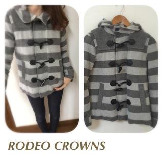 ロデオクラウンズ(RODEO CROWNS)のRODEO ボーダーダッフルコート(ダッフルコート)