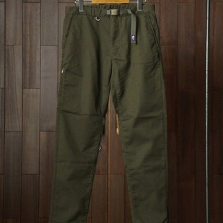 THE NORTH FACE - THE NORTH FACE purple label chino green