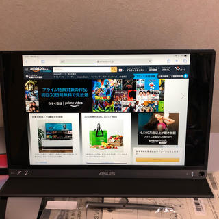 エイスース(ASUS)の中古 ASUS ZenScreen Go MB16AP(ディスプレイ)
