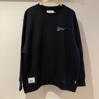 W)taps - 19AW WTAPS DESIGN CREW NECK 01