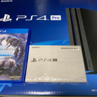 PlayStation4 - PlayStation®4 Pro ブラック 1TB モンハンアイスボーン